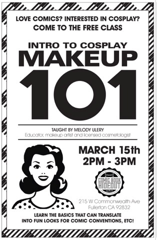 Free Cosplay Make Up 101 Class